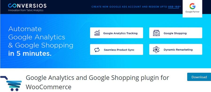 Google Analytics and Google Shopping plugin for WooCommerce
