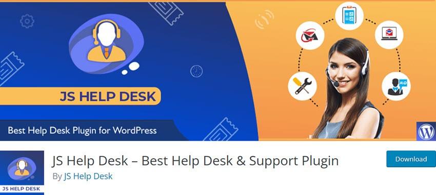 JS Help Desk – Best Help Desk & Support Plugin