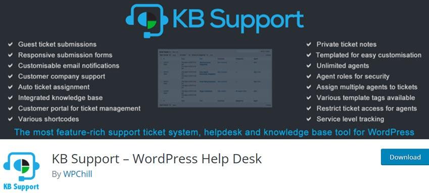KB Support – WordPress Help Desk