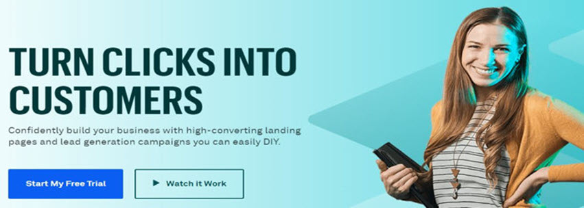 Leadpages TURN CLICKS INTO CUSTOMERS