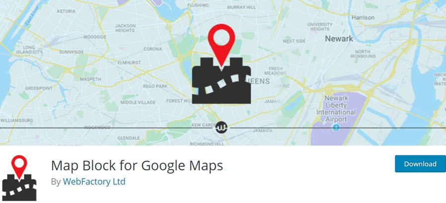 Map Block for Google Maps