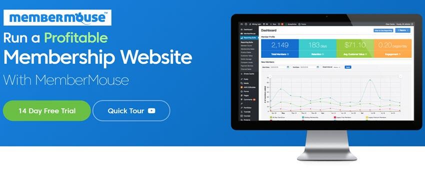 MemberMouse Run a Profitable Membership Website