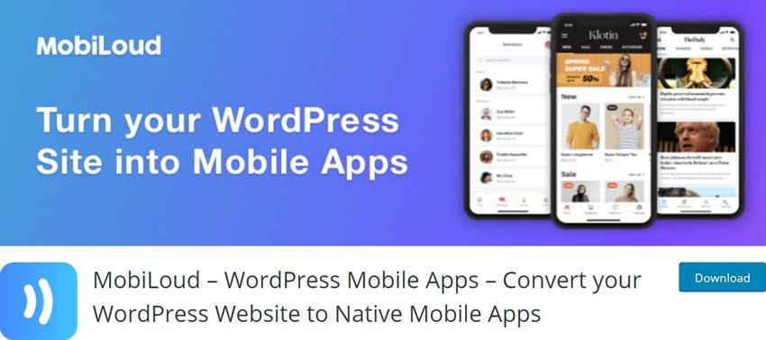 MobiLoud – WordPress Mobile Apps – Convert your WordPress Website to Native Mobile Apps