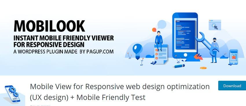 Mobile View for Responsive web design optimization (UX design) + Mobile Friendly Tes