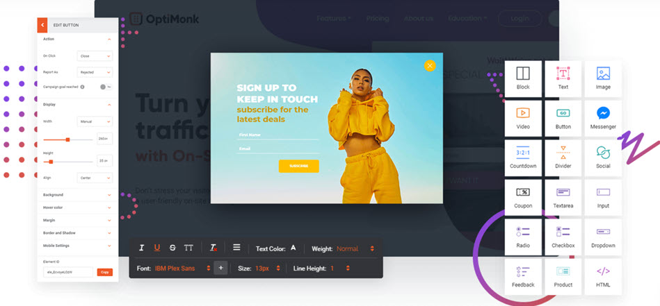Optimize Your Theme With Optimonk