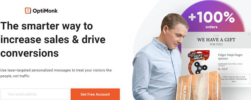 Optimonk The smarter way to increase sales & drive conversions