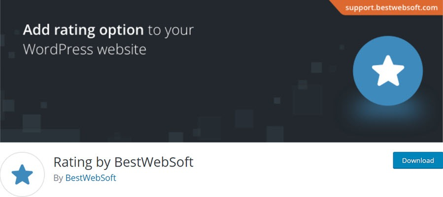 Rating by BestWebSoft