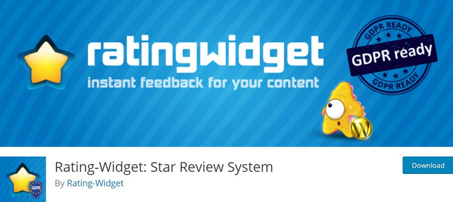 RatingWidget Star Review System