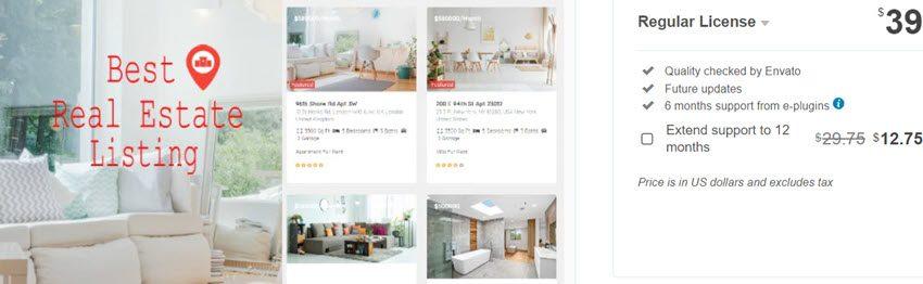 Real Estate Pro - WordPress Plugin