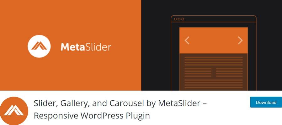 Slider, Gallery, and Carousel by MetaSlider – Responsive WordPress Plugin