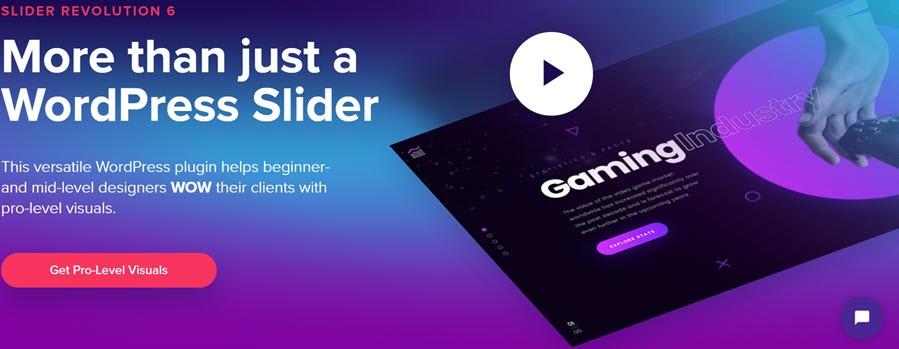 Slider Revolution More Than Just A WordPress Slider