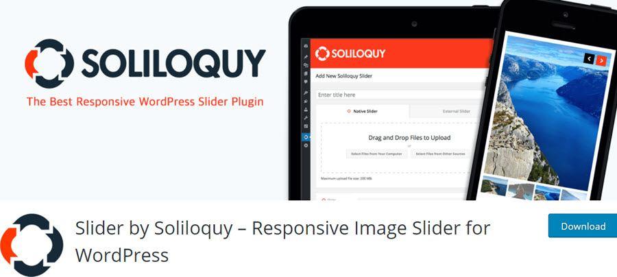 Slider by Soliloquy – Responsive Image Slider for WordPress