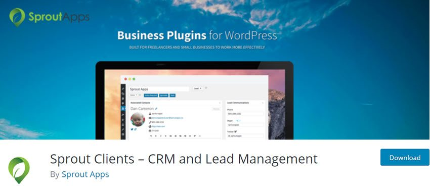 Sprout Clients CRM and Lead Management