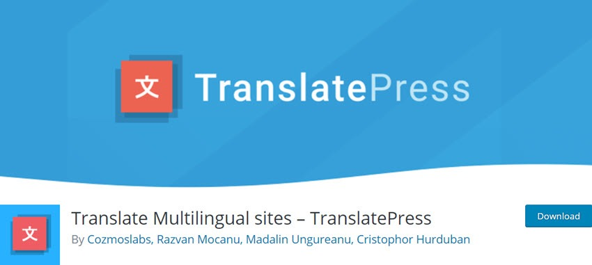 Translate Multilingual sites – TranslatePress
