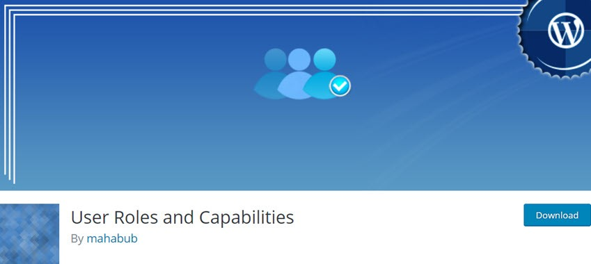 User Roles and Capabilities