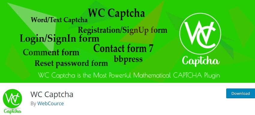 WC Captcha