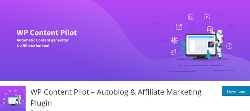WP Content Pilot – Autoblog & Affiliate Marketing Plugin