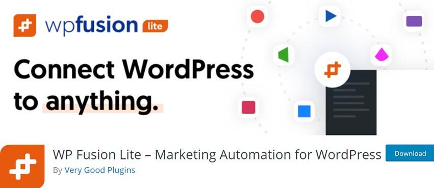WP Fusion Lite Marketing Automation for WordPress
