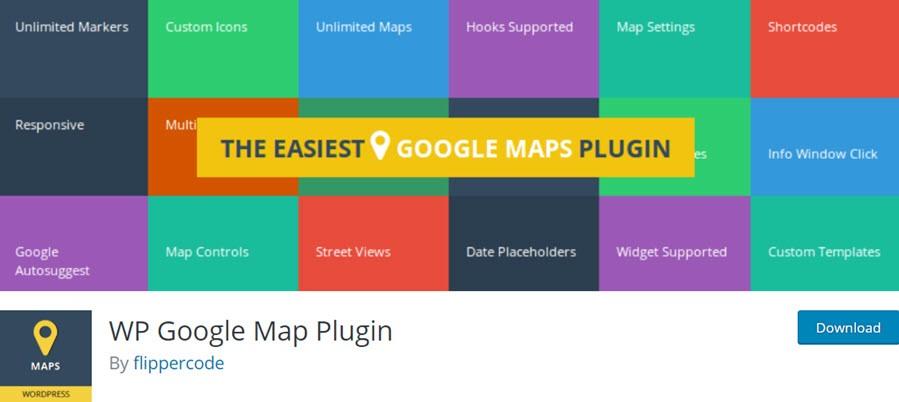 WP Google Map Plugin
