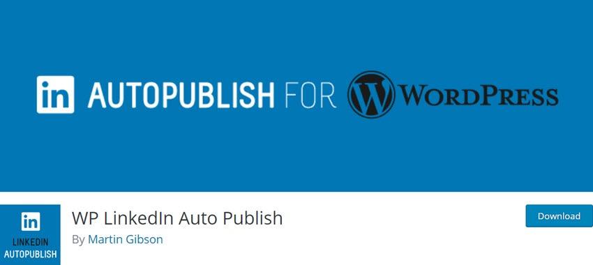 WP LinkedIn Auto Publish