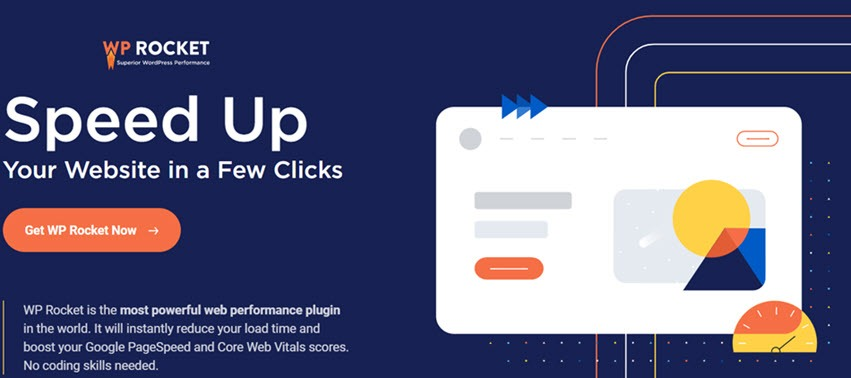 WP ROCKET Speed UP Your Website In A Few Clicks