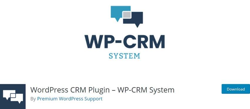 WordPress CRM Plugin WP-CRM System