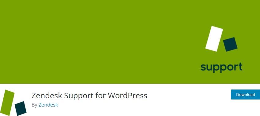 Zendesk Support for WordPress