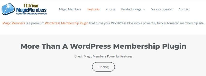 magicmembers More Than A WordPress Membership Plugin