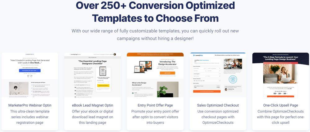 optimizepress template design